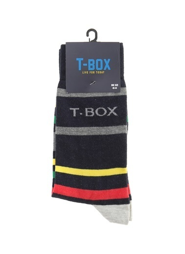 T-Box Çorap Lacivert